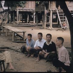 Phetsarath trip : village men