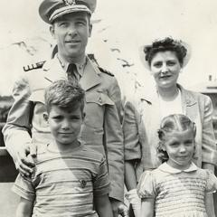 Commander Weaver and his family