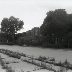 The vacant Nash/AMC office building