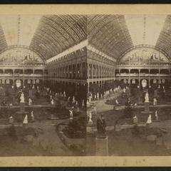 Interior of Palace of Industry, Paris