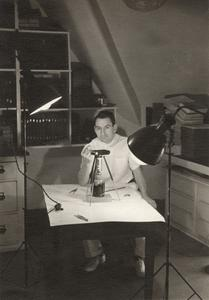 Dr. Charles Bechtol in his office