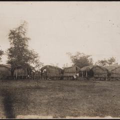 A view of officers quarters at Antifoe during the [illegible]
