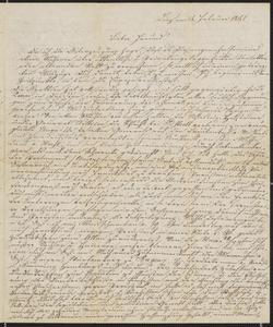 [Letter to Jakob Sternberger, February 5, 1851]