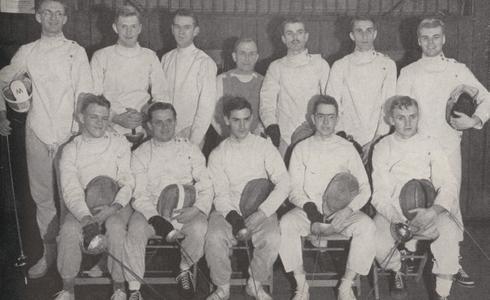 1949 Fencing team