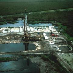 Aerial View of Oil Refinery Near Bentiu