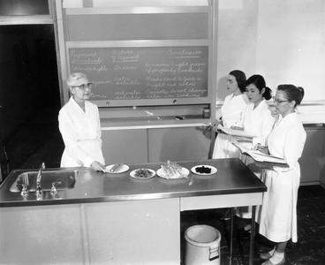 Experimental foods class