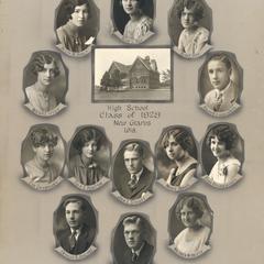 1928 New Glarus High School graduating class