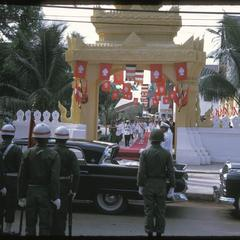 Vat Ong Tu oath taking ceremony--departure by rank order