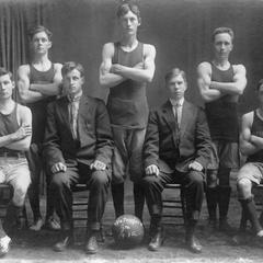 Waterford High School Basketball team, 1912