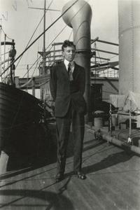 William Vern Huntoon en route to Argentina