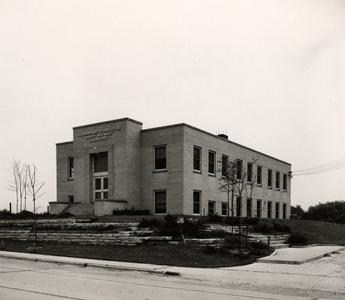 Exterior view of Barley and Malt Lab