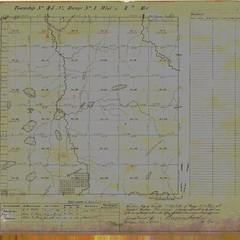 [Public Land Survey System map: Wisconsin Township 45 North, Range 01 West]