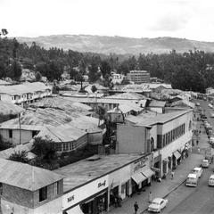 Major Thoroughfare and Shops in Downtown Addis Ababa, 1958-60