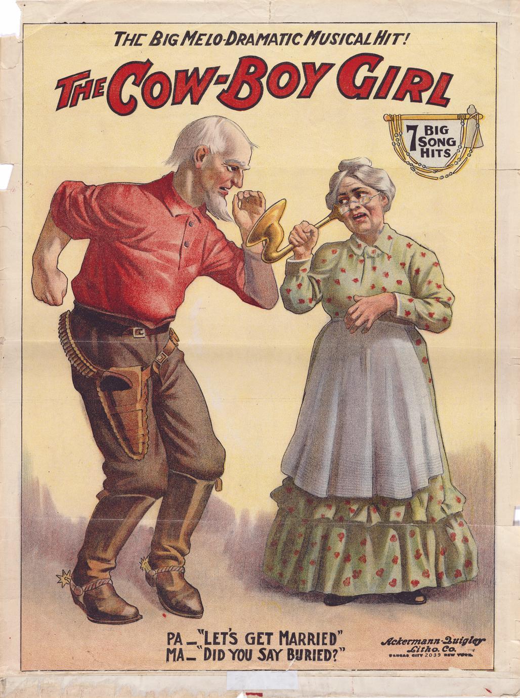 The Cow-boy Girl