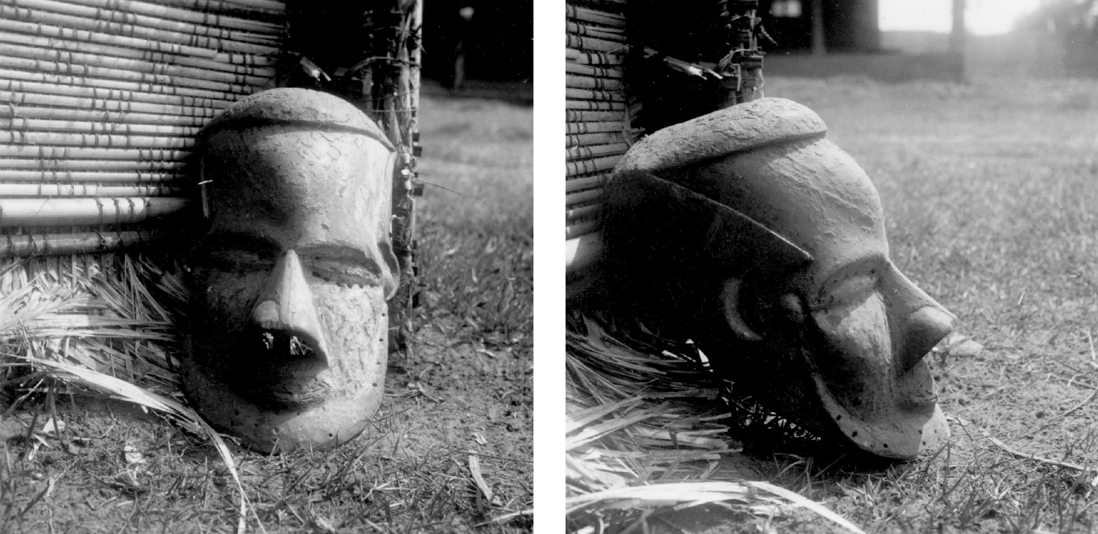 Kuba-Bushong Bwom Mask in Royal Collection