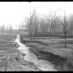 Pike Creek from Burlington Road - April