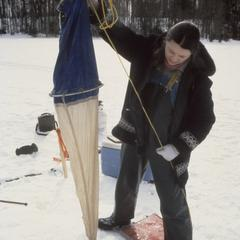 Winter water sampling North Temperate Lakes Long Term Ecological Research (LTER) (7)