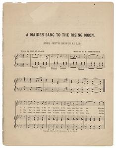 Maiden sang to the rising moon