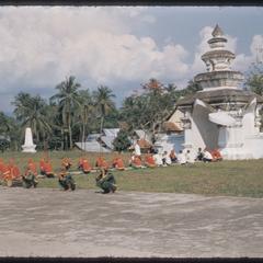 Kammu (Khmu') guards at ceremony
