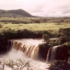 Waterfall in Wina River