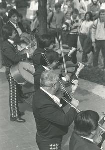 Musicians at MEChA celebration