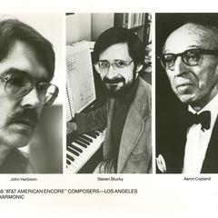 """1987/88 """"AT&T American Encore"""" Composers"""