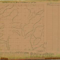 [Public Land Survey System map: Wisconsin Township 38 North, Range 13 East]