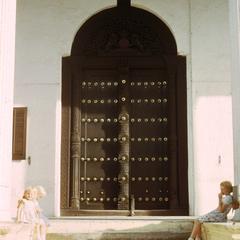 Carved Door on Zanzibar