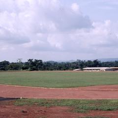 Sports stadium at Olashore International School