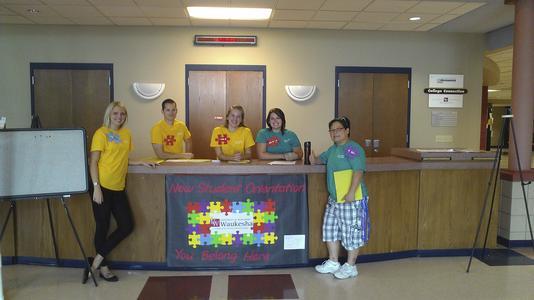Student orientation team leaders