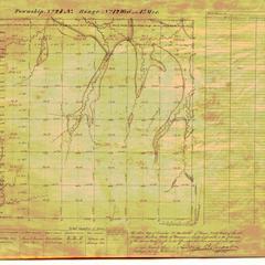 [Public Land Survey System map: Wisconsin Township 24 North, Range 12 West]