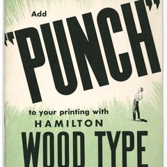 """Add """"punch"""" to your printing with Hamilton wood type"""