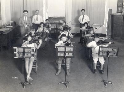 Summer Music Clinic Elementary Strings Class