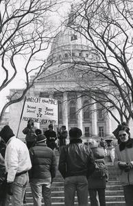 Anti-war rally at State Capitol