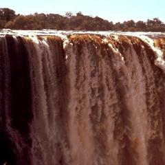 Looking Across Victoria Falls