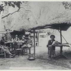 Mess at San Roque outpost, 1899
