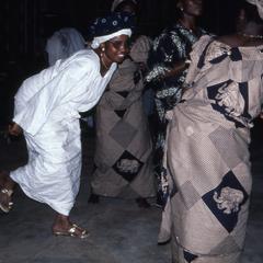 Dancing in Oshogbo