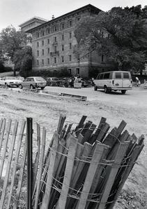 Construction near Barnard Hall
