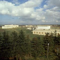 View of campus from the Waukesha water tower