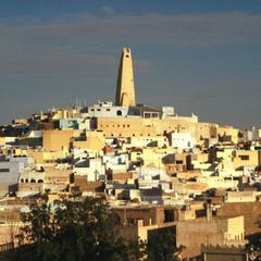 View of City of Ghardaia