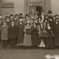 Students at the 1914 Farmers' and Homemakers' Courses
