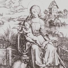 The Madonna with Monkey