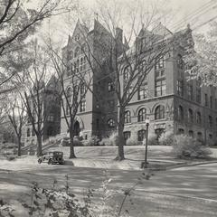 Science Hall in winter