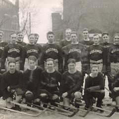 UW hockey teams and coaches