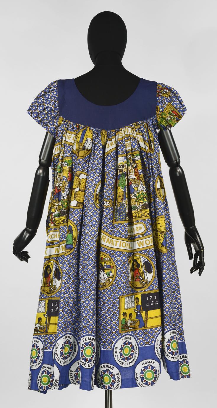 International Women's Day (2008?)--Blue dress (2 of 6)