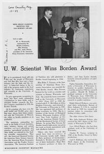 UW scientist wins Borden Award