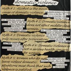 The 5 myths and facts about domestic violence