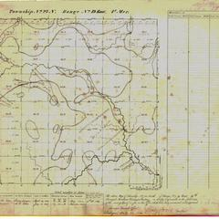 [Public Land Survey System map: Wisconsin Township 27 North, Range 19 East]