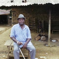 Spiritual association in Mouila, Gabon