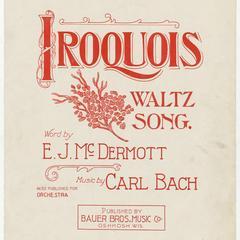 Iroquois waltz song